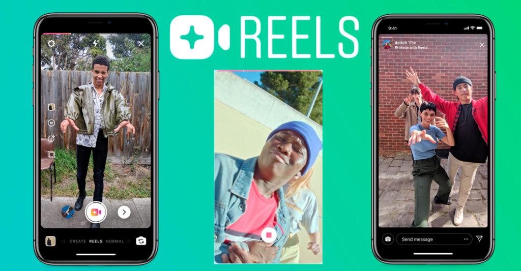 Instagram Reels - Tiktok - fonctionnalités - comparaison