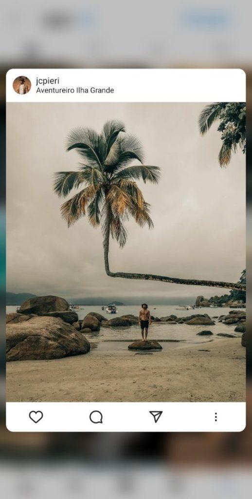 Paysage - Algorithme - Instagram - fonctionnement - 2021