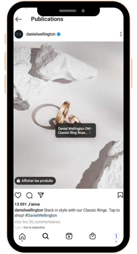 Instagram Shopping - Swipe up - débloquer - Instagram