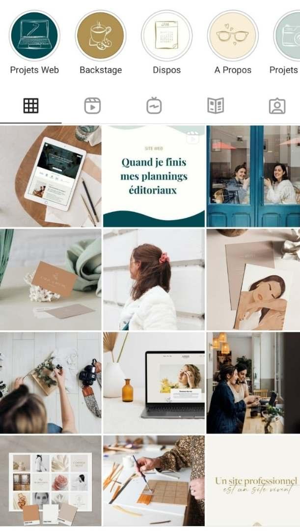 charte graphique - instagram - astuces - réussir - 2021