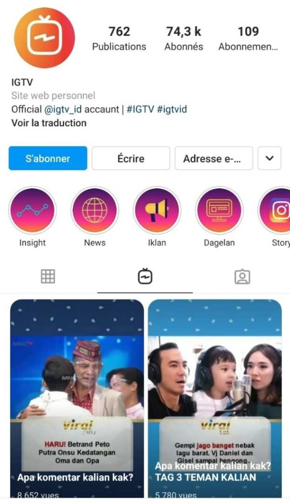 IGTV - format vidéo - Instagram - astuces - réussir - 2021
